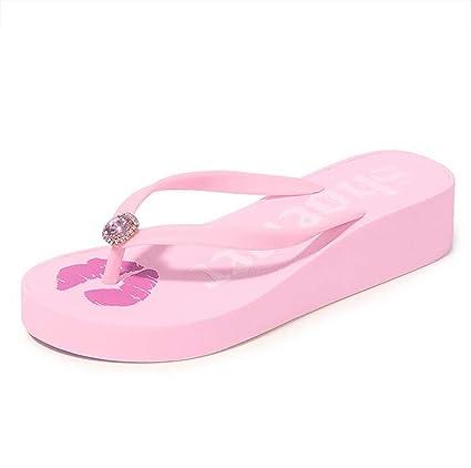 1b6e2a0c571a6 Amazon.com: SHANGXIAN Summer Beach Wedge Flip Flops Women Non-Slip ...