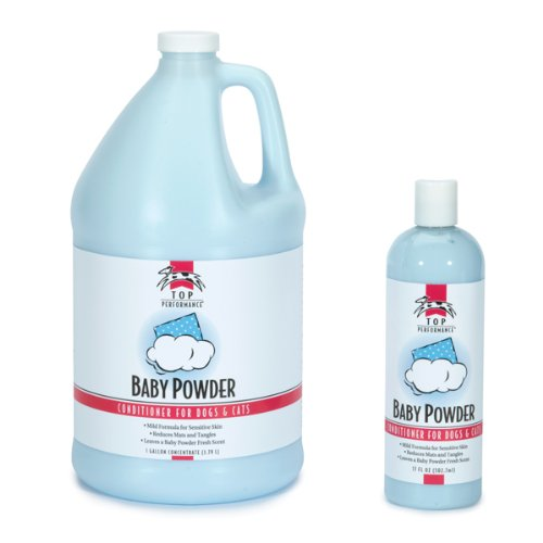 Top Performance Baby Powder Pet Conditioner, 17-Ounce, My Pet Supplies