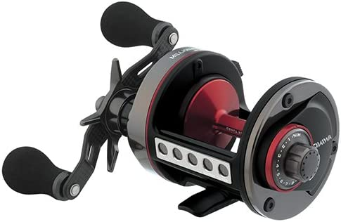 Daiwa M7HTMAGST Millionaire Surf Reel, 5.8 1 Gear Ratio, 8CRBB, 1BB, 1RB Bearing, 11 lb Max Drag, Right Hand