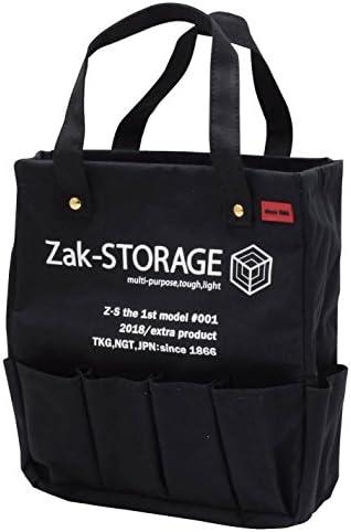 [スポンサー プロダクト]高儀(Takagi) 工具バッグ Zak-STORAGE クラフトマンズトート ブラック M CMT-300MB
