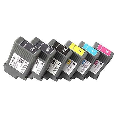 Colour-store Multi-color 130ml PFI-102 Ink Cartridge for Canon iPF710 iPF610 iPF510 printer inkjet
