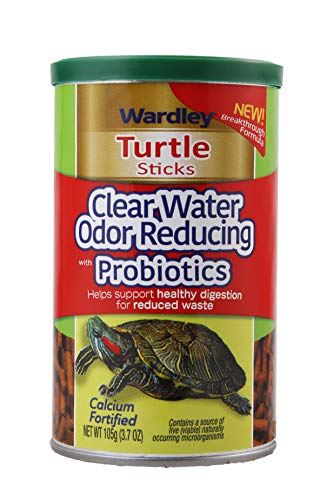 (Tropical Turtle Sticks Clear Water Odor Reducing with Probiotics, 3.7 oz)