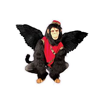 wizard of oz flying monkey w bat wings halloween adult costume and mask