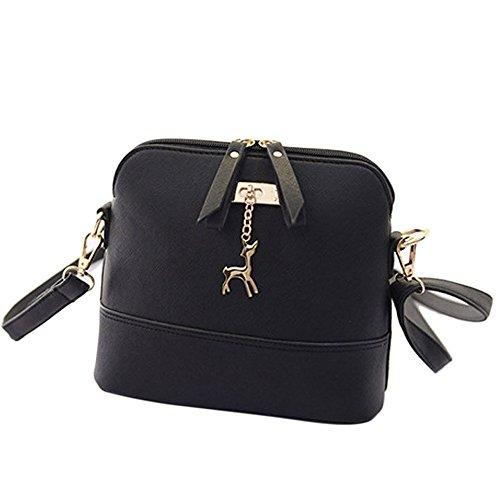 Women Large Shoulder Bag Handbag Cross-body Bags Cheap Colors for Girl by TOPUNDER ZC