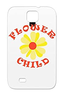 TPU Scratch-resistant Flower Child Baby Family Kids Downwithdetroit Baby Miscellaneous Bronze Protective Case For Sumsang Galaxy S4