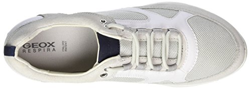 Geox whitec1209 Sneakers Freccia White Blanc Femme Basses off A D rqpCTwr