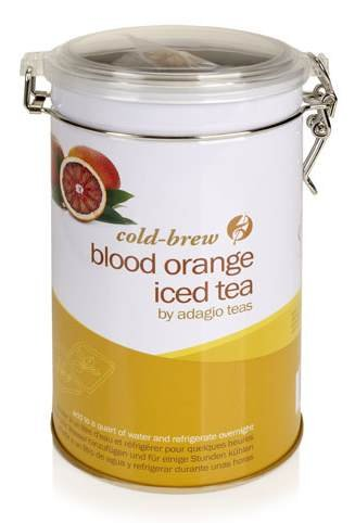 Adagio Blood Orange Herbal Iced Tea (Iced Tea Pouch - 12 ct. canister)