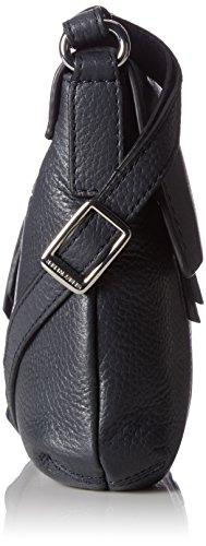 GERRY WEBER Damen Aragonien I Shoulderbag Mhf Schultertasche, 1x19x27 cm Blau (Dark Blue)