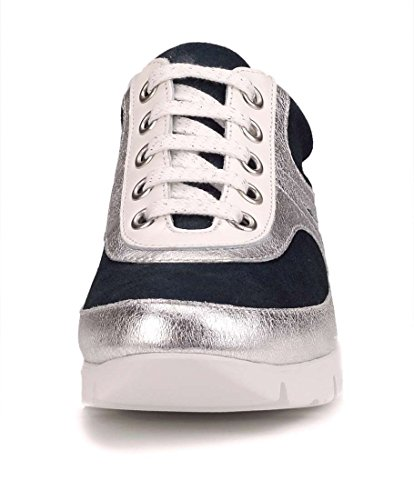 Flexx bleu Argent Femme Tee The Sneaker Move OYZdwOqp