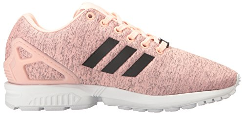 Adidas Originali Da Donna Zx Flux W Lace-up Fashion Sneaker Haze Coral Nero / Bianco