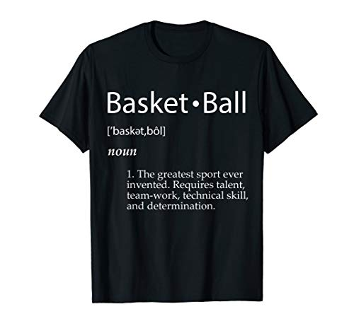 Basketball Definition Shirt School College Player Gift