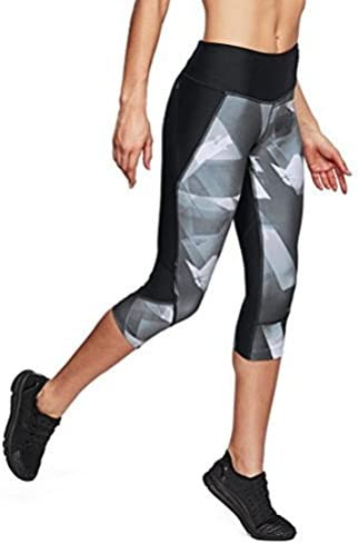 Women 's Armour Fly Fast Printed Capri