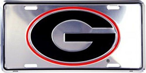 (Dixie Georgia Bulldogs Anodized License Plate)