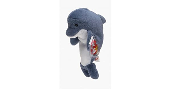 Amazon.com  Echo the Dolphin - Ty Beanie Baby by TY~BEANIES AQUATIC  Toys    Games 929c085de10b