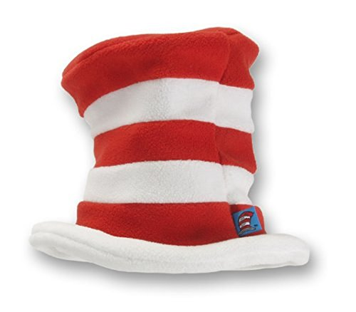 Character Costumes Hats (elope Dr. Seuss Toddler Cat in the Hat Fleece Hat)
