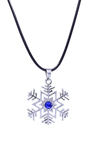 De-Cos Vocaloid Family Cosplay Accessory Hatsune Miku Snowflake Necklace V1]()