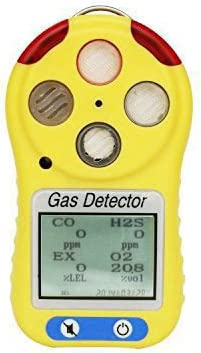 Industry portable 2in1 gas alert detector (H2S+LEL) range 0-200ppm, 0-100%LEL - - Amazon.com