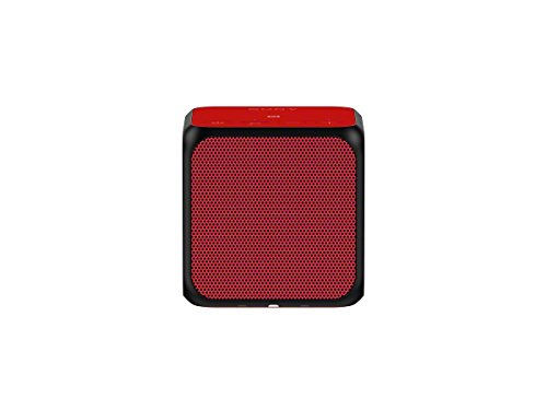 Sony SRSX11 Ultra-Portable Bluetooth Speaker (Red)