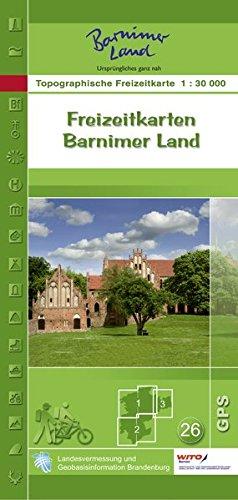 Set Freizeitkarten Barnimer Land (mit Begleitheft): Topographische Freizeitkarte 1:30000 (Topographische Freizeitkarten 1:30000 Land Brandenburg)