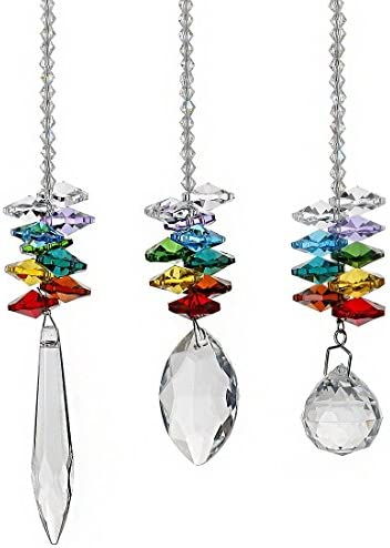 Chandelier Crystals Rainbow Octagon Suncatcher product image
