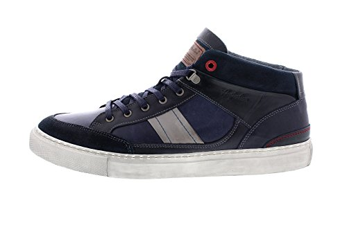 AUSTRALIAN Shoes - Harvard Leather - Navy Grey