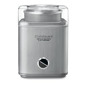 Cuisinart ICE-30BC Pure Indulgence 2-Quart Automatic Frozen Yogurt, Sorbet, and Ice Cream Maker