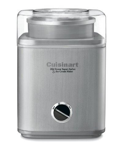Cuisinart ICE-30BC Pure Indulgence 2-Quart Automatic Frozen Yogurt, Sorbet, and Ice Cream Maker by Cuisinart