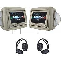 Soundstream VHD9GRDK 1 Pair Pre-Loaded 8.8-Inch LCD, Dark Gray