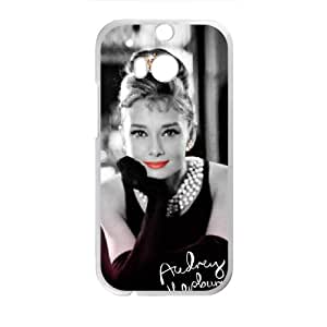 Audrey Hepburn Cell Phone Case for HTC One M8