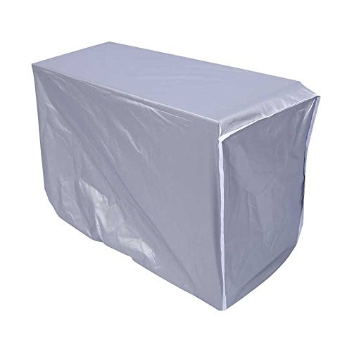 HOMAYLY Air Conditioner Cover Outdoor 94 x 40 x 73cm(LxWxH), conditioner covers for outside units, air conditioner cover, Anti-Dust Anti-Snow Waterproof Sunproof Winter Weather Protector Square