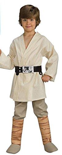Luke Skywalker Boys Small 4-6 Halloween Costume Star Wars (Kids Luke Skywalker Costumes)