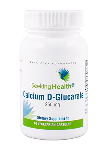 Calcium D-Glucarate | 250 mg | 60 Vegetarian Capsules | Physician-Formulated | Seeking Health