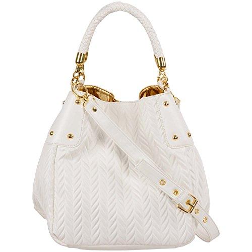 White Satchel Handbags - 1