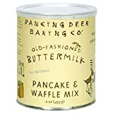 Dancing Baking Co. Pancake And Waffle Mix Old Fashioned Buttermilk Tin 16 OZ (Pack of 18)