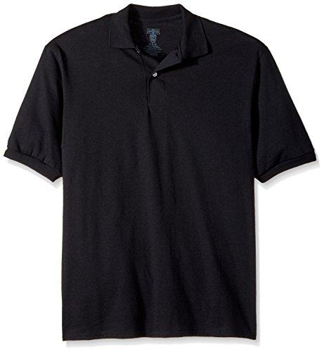 Jerzees Mens 437 SpotShield Polo – DiZiSports Store
