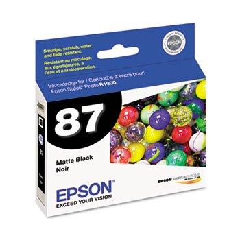 Epson UltraChrome Hi-Gloss 2 Pigment Matte Black Ink Cartridge - Q21077
