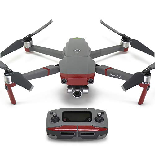 Wrapgrade Poly Skin for DJI Mavic 2 | Accent Color (Japan RED)