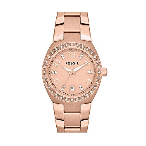 - Fossil Women's AM4508 Serena Rose Gold-Tone Stainless Steel Watch