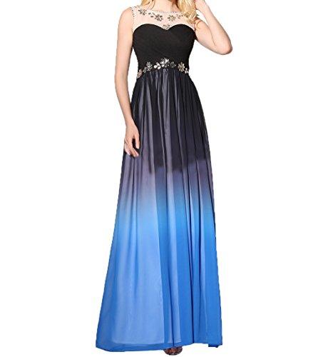 Ein Charmant Neu 2018 Blau Steine Dunkel Abendkleider Blau Neu Damen Ballkleider Dunkel glaenzende Schulter Sommer mit qx4wXqrZ