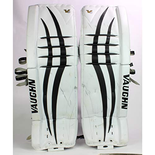 Vaughn V6 Goalie Pads 32+2 White