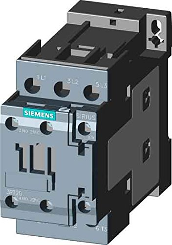 Siemens - 3RT20271AC20 - IEC Magnetic Contactor, 24VAC Coil Volts, 32 Full Load Amps-Inductive, 1NC/1NO Auxiliary Contact - Coil Amp 24v