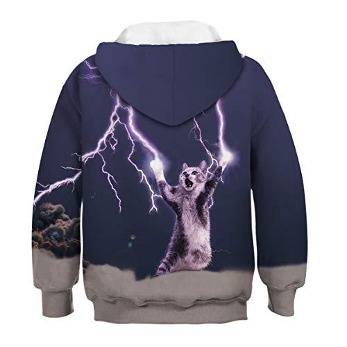 Cat Femme Lightning Sweat shirt Amoma wzqURTpa