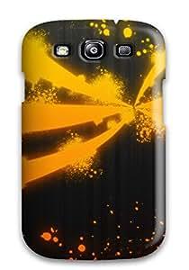Hot For Galaxy S3 Premium Tpu Case Cover Orange Protective Case