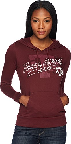 Champion College Women's Texas A&M Aggies Eco University Fleece Hoodie Maroon X-Small ()