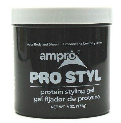 Ampro Pro Protein Styling Gel Jar 6 oz. BONUS (Case of 6) by AmPro (Case Styling Gel)