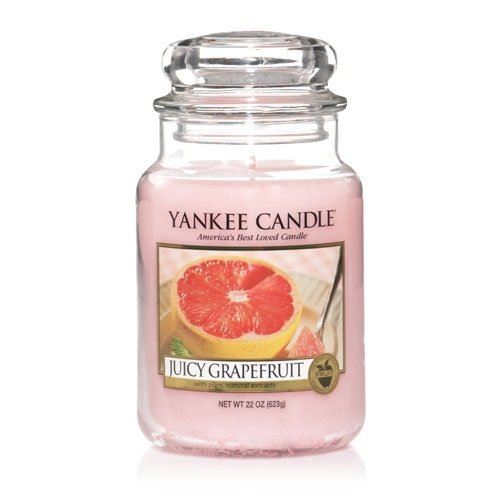 Yankee Candle 22 oz Jar Juicy Grapefruit ()
