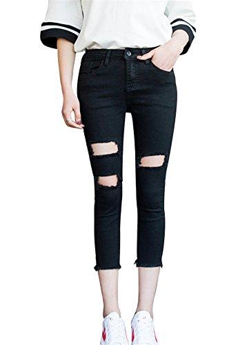 Icegrey - Jeans - skinny - Donna Nero