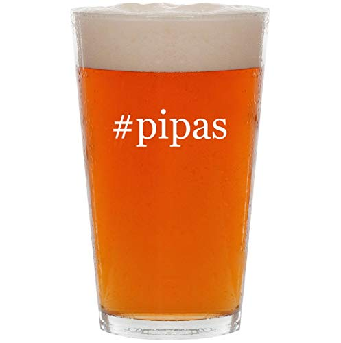 #pipas - 16oz Hashtag All Purpose Pint Beer Glass