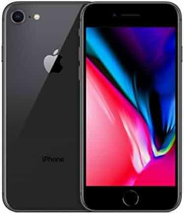 Apple iPhone 8, Unlocked, 64GB - Space Gray (Renewed)