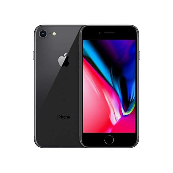 41ozlIxWU2L. SS600 - Apple iPhone 8, GSM Unlocked, 64GB - Space Gray (Renewed)